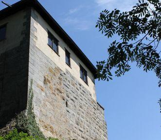 Burg Wäscherschloss, Außenaufnahme; Foto: Vermögen und Bau Baden-Württemberg, Amt Schwäbisch Gmünd