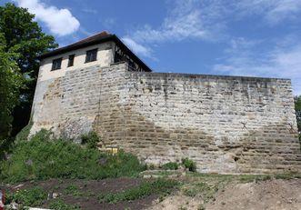 Außenansicht der Burg Wäscherschloss