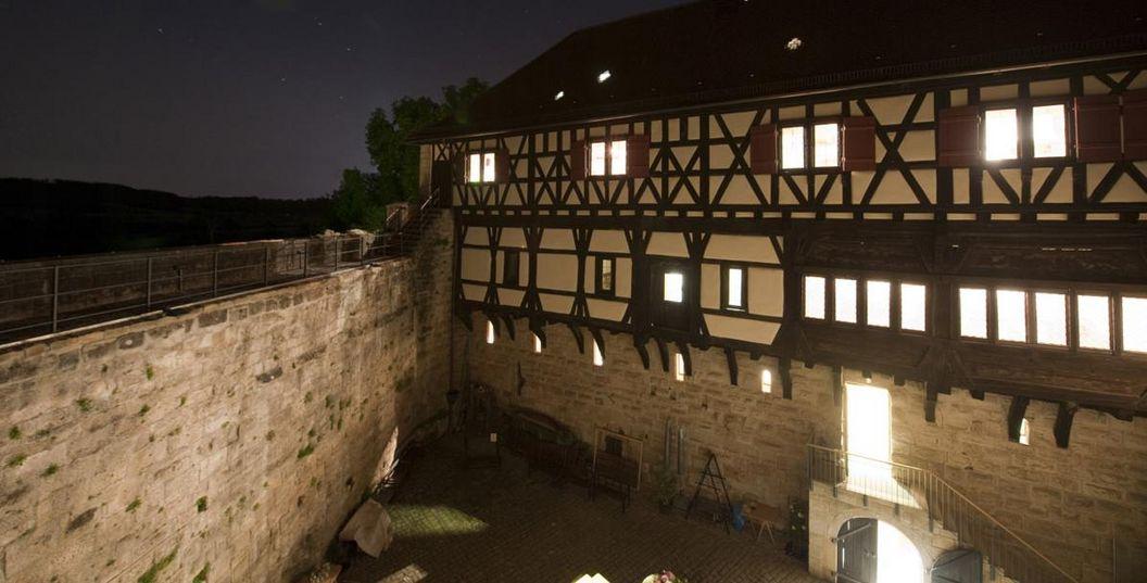 Burg Wäscherschloss; Foto: Staatliche Schlösser und Gärten Baden-Württemberg, Rolf Schwarz