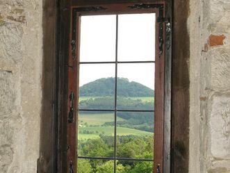 Burg Wäscherschloss, Ausblick